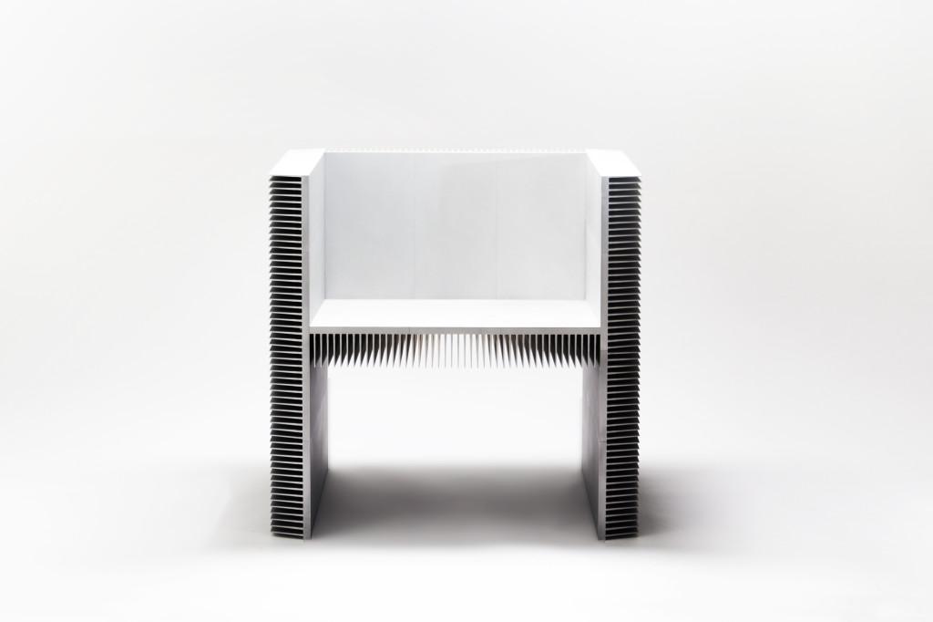Heatsink Chair by Paul Puskarich 1