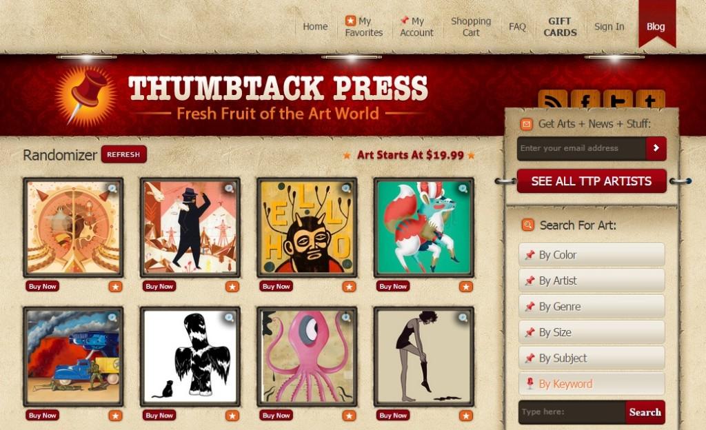 6. Thumbtack Press