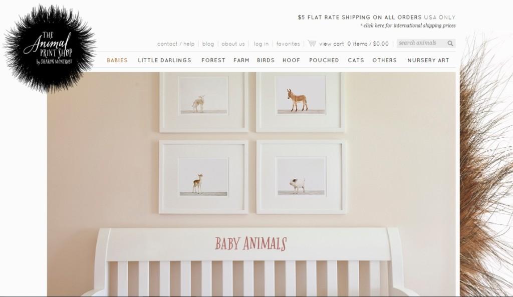 7. The Animal Print Shop