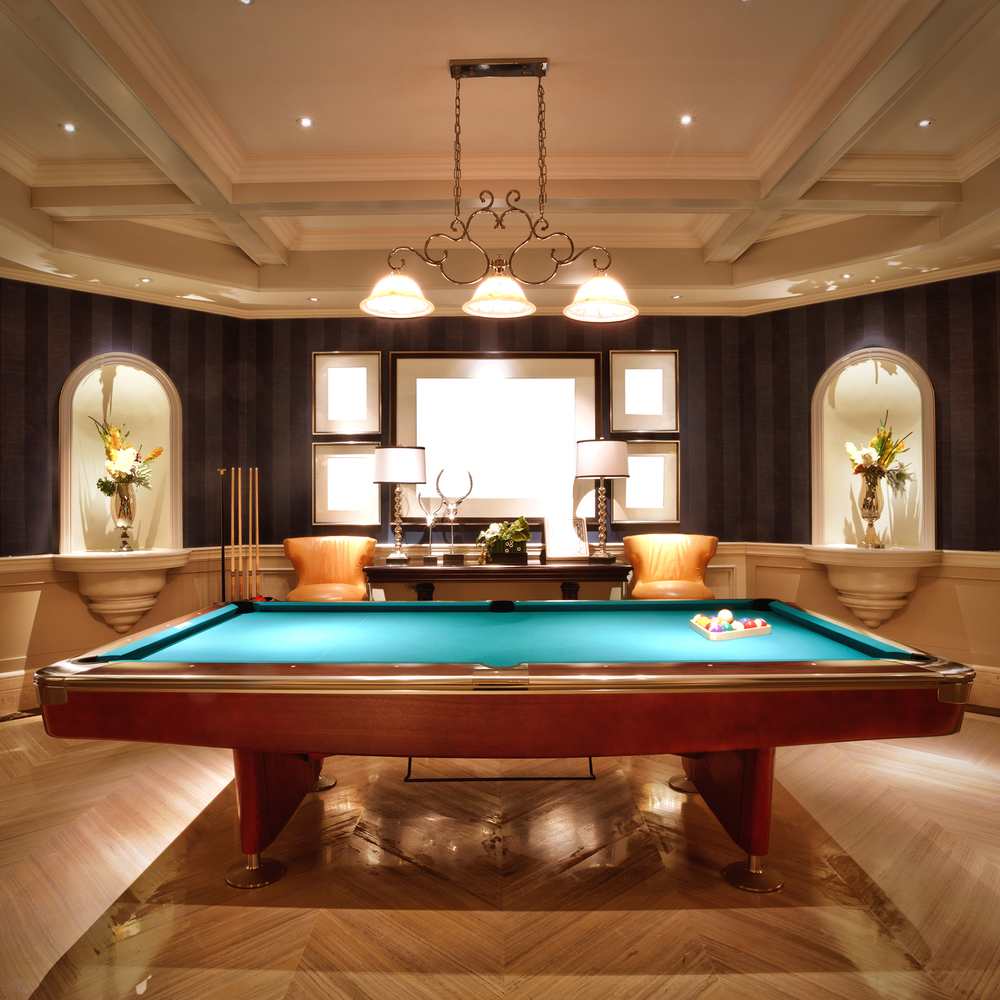 40 Classic Billiard Room Ideas For The Home Structurespace