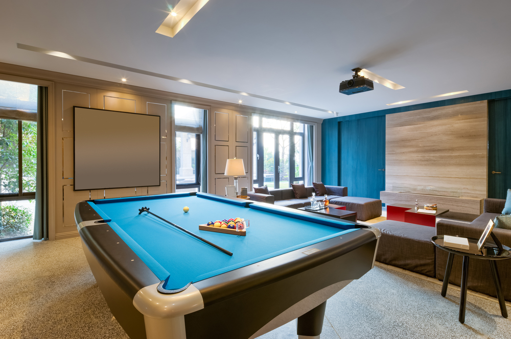 40 classic billiard room ideas for the home structurespace for Rec room pools