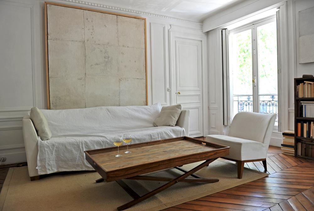 Paris apartment interior